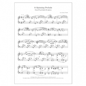 Spinning Prelude (No. 9 from 15 Preludes for piano)   DIGITAL -  Iain James Veitch
